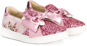 MonnaLisa bow sneakers
