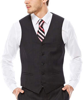 Jf J.Ferrar JF Nailhead Suit Vest - Slim Fit