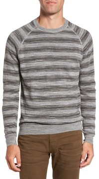 Billy Reid Men's Reverse Stripe Sweater