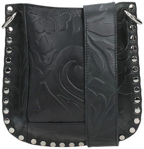 Isabel Marant Nasko Embossed Shoulder Bag
