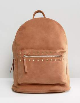 Pieces Studded Backpack
