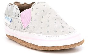 Robeez Baby Girls Newborn-24 Months Dotted Soft-Sole Shoes