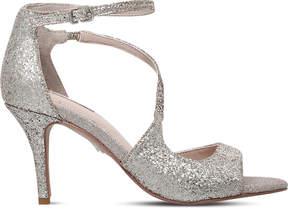 Carvela Gamma metallic heeled sandals