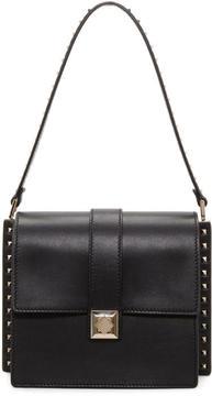 Valentino Black Garavani Rockstud Boxy Trunk Bag