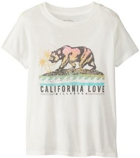 Billabong Girls' Cali Love Bear Tee (414) - 8164320