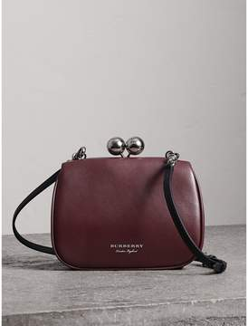 Burberry Small Leather Frame Bag