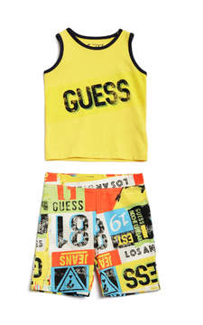 GUESS Tank Top & Pants Set (0-24M)