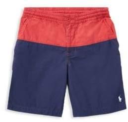 Ralph Lauren Little's Boy's& Boy's Prepster Colorblock Shorts