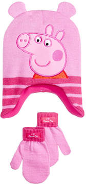 Peppa Pig 2-Pc. Hat & Gloves Set, Toddler Girls (2T-5T)