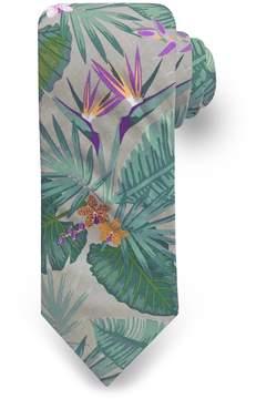 DAY Birger et Mikkelsen Men's Rooster Tropical Spaced Floral Tie