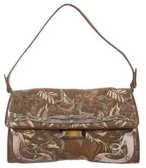 Miu Miu Brocade Shoulder Bag