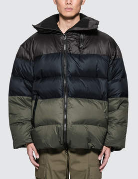 Public School Gombu Hooded Down Jacket With Zipper Details