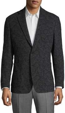 Billy Reid Men's Rustin Wool Jacquard Sportcoat