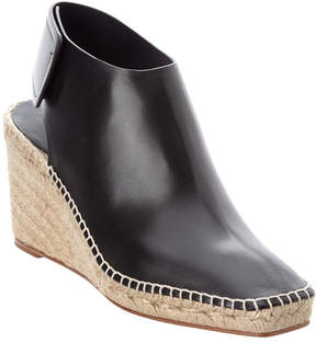 Celine Espadrille Frame Leather Toe Bootie