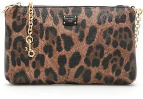 Dolce & Gabbana Crespo Leo Mini Bag - NATURALE/NERO|BEIGE - STYLE