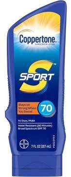 Coppertone Sport Sunscreen Lotion - SPF 70 - 7oz