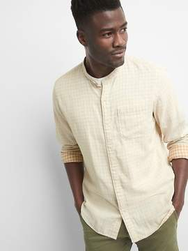Gap Double-Layer Standard Fit Shirt with Stretch