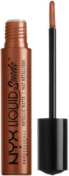 NYX Liquid Suede Metallic Cream Lipstick - New Era (deep metallic bronze)