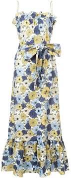 Lisa Marie Fernandez Floral-Print Maxi Dress