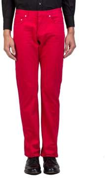 Christian Dior Men's Straight Fit Jeans Pants Red