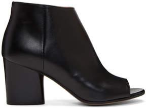 Maison Margiela Black Open Toe Boots