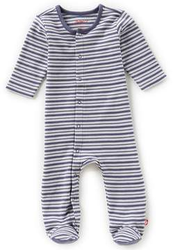 Zutano Baby Boys Newborn-6 Months Striped Footed Coverall