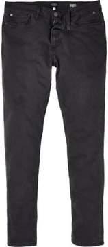 River Island Mens Grey grunge Sid skinny stretch jeans