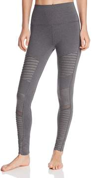 Alo Yoga High Rise Moto Leggings