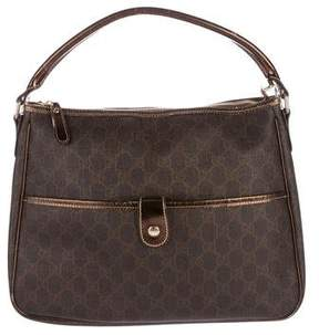 Gucci GG Plus Shoulder Bag - BROWN - STYLE
