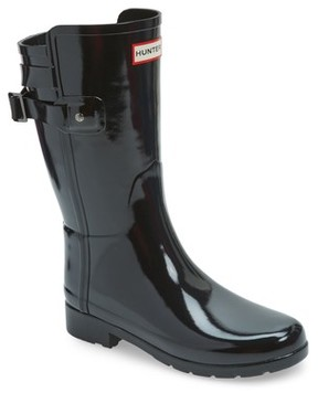 Hunter Women's Refined Back Strap Rain Boot