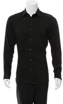 Ann Demeulemeester Striped Button-Up Shirt