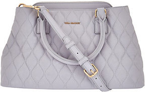 Vera Bradley Quilted Leather Satchel - Emma - ONE COLOR - STYLE