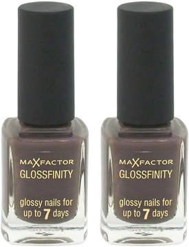 Max Factor Noisette Glossfinity Nail Polish - Set of Two