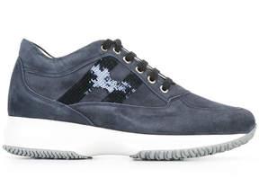 Hogan sequin embellished sneakers