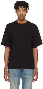 Helmut Lang Black Drape Tank Military T-Shirt
