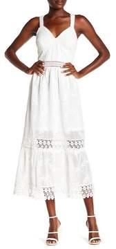 ABS by Allen Schwartz Collection Lace V-Neck Short Dress