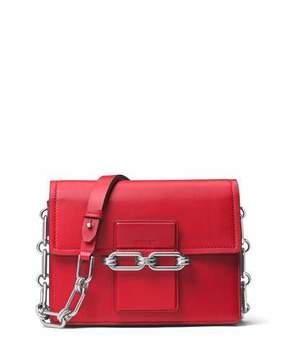 Michael Kors Cate Medium Chain Shoulder Bag, Crimson - CRIMSON - STYLE