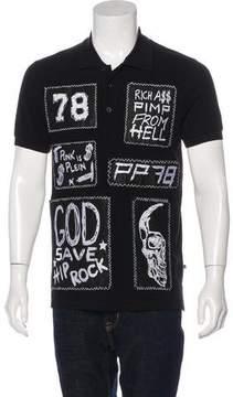 Philipp Plein Patchwork Polo Shirt