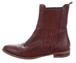 Freda Salvador Leather Mid-Calf Boots