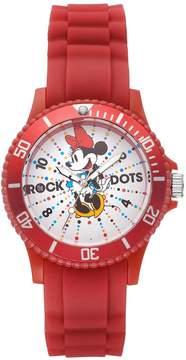 Disney Disney's Minnie Mouse Rock the Dots Women's Watch