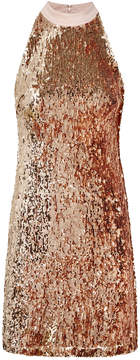 Sam Edelman Sequin Halter Dress
