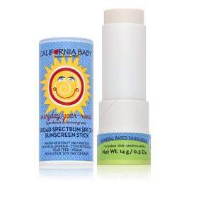 California Baby Everyday Year-Round Broad Spectrum SPF 30 Plus Sunscreen Stick