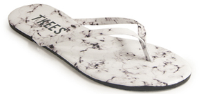 TKEES Marble - Leather Thong Sandal