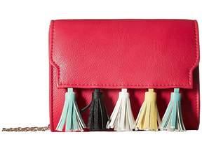 Jessica McClintock Katie Tassel Shoulder Bag Shoulder Handbags