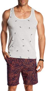 Sovereign Code Lowe Pineapple Embroidered Tank Top