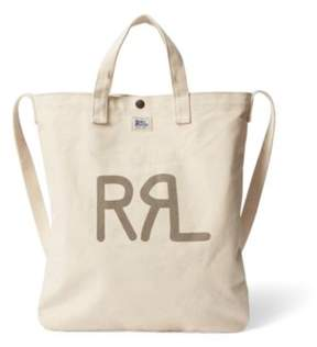 Ralph Lauren Seeded Canvas Market Tote Natural One Size