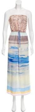Clover Canyon Strapless Maxi Dress