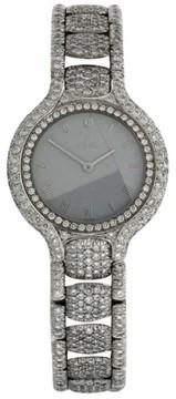 Ebel Beluga 18K White Gold & Diamond 34mm Watch