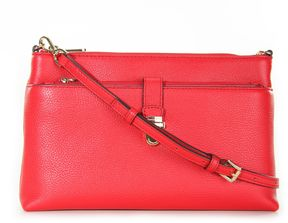 MICHAEL Michael Kors Mercer Large Snap Pocket Crossbody Red - RED - STYLE