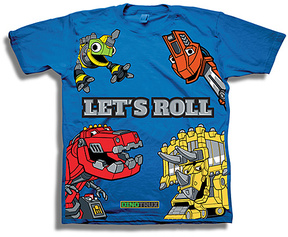 Freeze Royal Dinotrux 'Let's Roll' Tee - Boys
